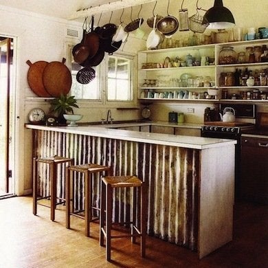 Corrugated Island Diy Kitchen Island 12 Unique Designs
