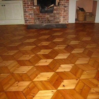parquet floors 10 stunning wood patterns bob vila. Black Bedroom Furniture Sets. Home Design Ideas