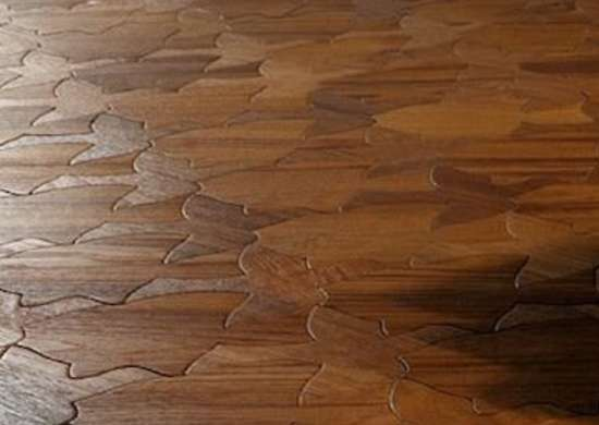 if you love wood flooring but find hardwood strips or traditional parquet a little boring this fanciful approach may be just the thing - Puzzle Wood Flooring