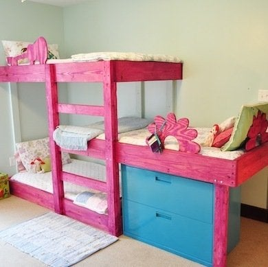 Kids Crammed In 10 Great Ideas For Your Kids Shared Bedroom 46766 on light blue room design