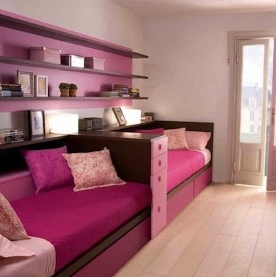 Kids room ideas 10 design themes for shared bedrooms - Shared bedroom ideas for small rooms ...