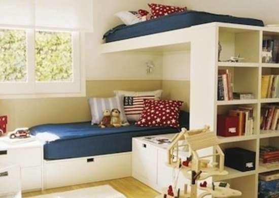 Bunk Bed Storage
