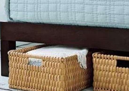 Under Bed Storage & Basket Storage - 13 Unexpected Ideas - Bob Vila