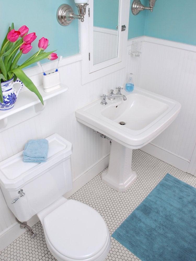 Unclog toilet