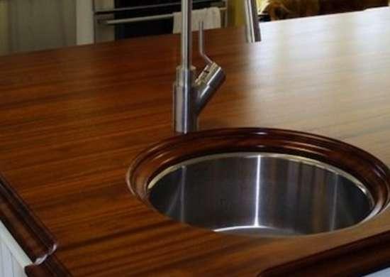 Exotic Wood Countertops
