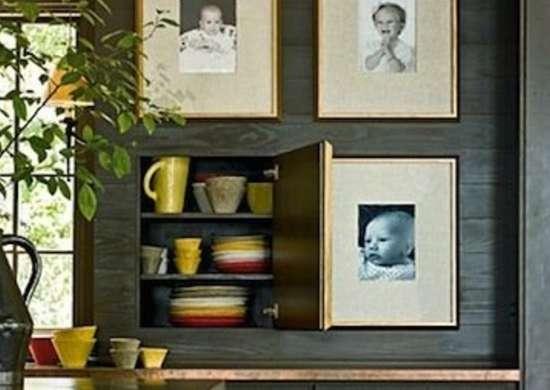 Picture Frame Storage