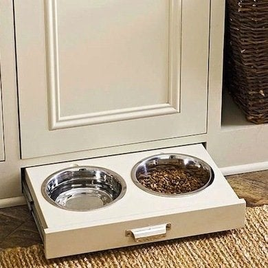 Pull Out Pet Bowls Hidden Storage 10 Sly Spots To Put
