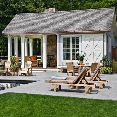 Pool House Ideas - 9 Design Inspirations - Bob Vila on simple house design ideas, swimming pool cabana ideas, garage pool house ideas, pool house plans, pool house paint ideas, pool house layouts, good website design ideas, pool cabana design ideas, pool bedroom ideas, pool designs for small backyards, dog house designs ideas, inexpensive pool house ideas, pool patio deck designs, pool house with living quarters, lake house designs ideas, swimming pool renovation ideas, pool house shed design, pool house with apartment, pool house interiors, swimming pool house ideas,