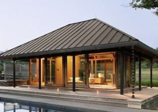 Modern pool house pool house ideas 9 design for Cool pool house ideas