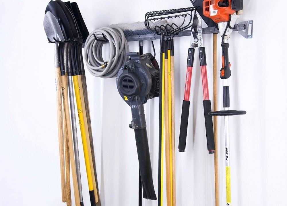 Garden-tool-rack