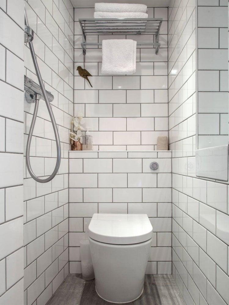 Bathroom wet room