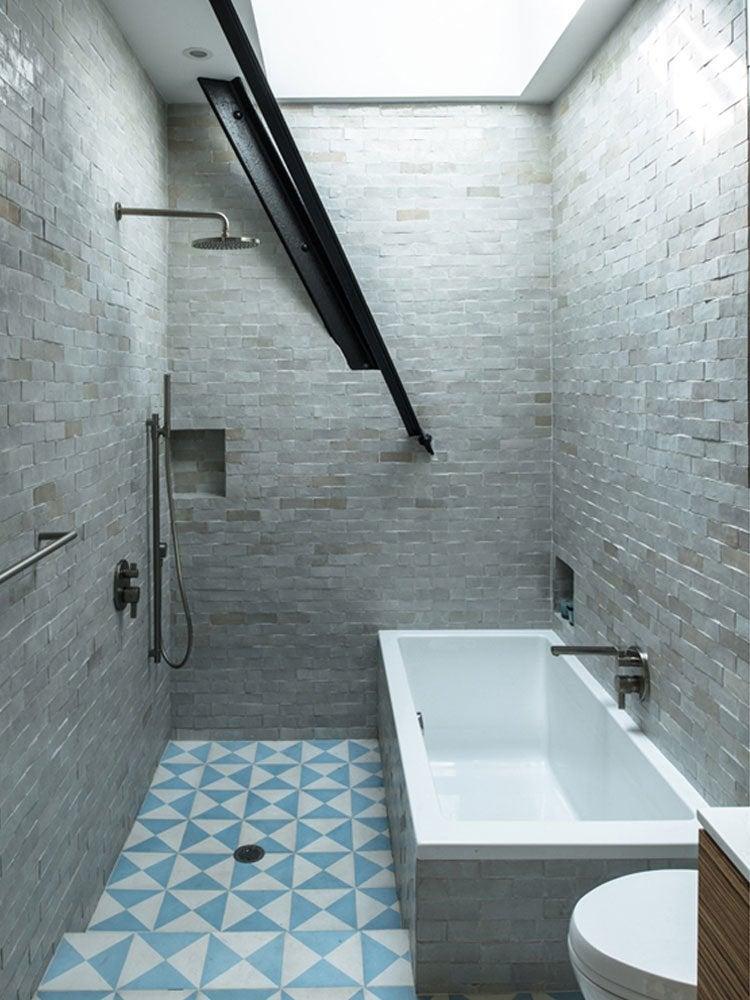 Bathroom brick