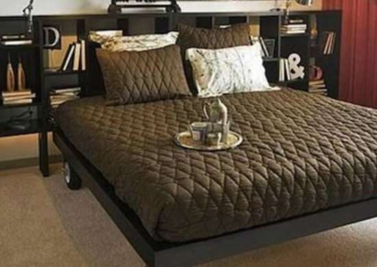 DIY Bed on Casters - DIY Beds - 15 You Can Make Yourself! - Bob Vila