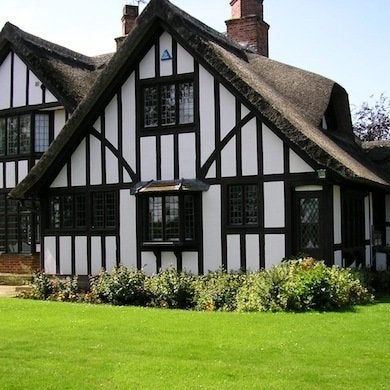 Thatched Roof Tudor Style Homes Living Like