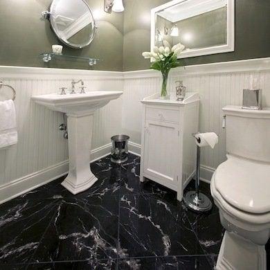 bathroom flooring ideas  fresh ideas beyond tile  bob vila, Home decor