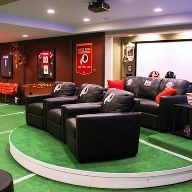 Football Decor 10 Winning Football Rooms For Fans Of All