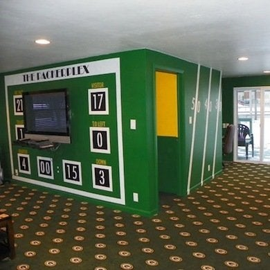 football decor - 10 winning football rooms for fans of all ages