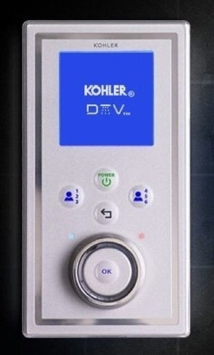 Kohler dtvii digital shower experience