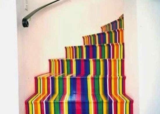 Rainbow Stairs