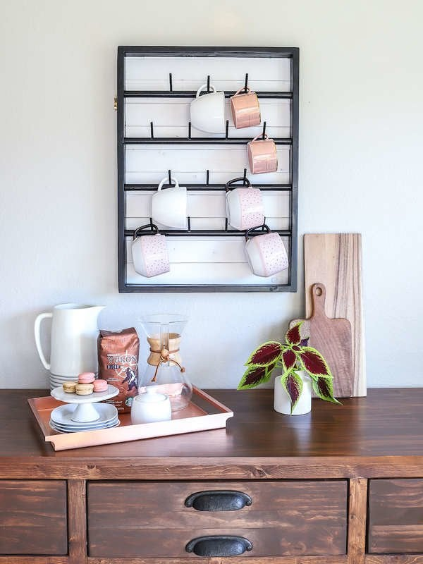 Stupendous Diy Coffee Bar Perk Up Your Home Design Bob Vila Gmtry Best Dining Table And Chair Ideas Images Gmtryco