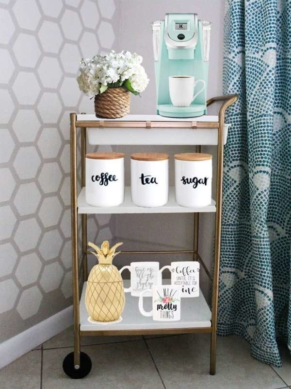 Astounding Diy Coffee Bar Perk Up Your Home Design Bob Vila Gmtry Best Dining Table And Chair Ideas Images Gmtryco