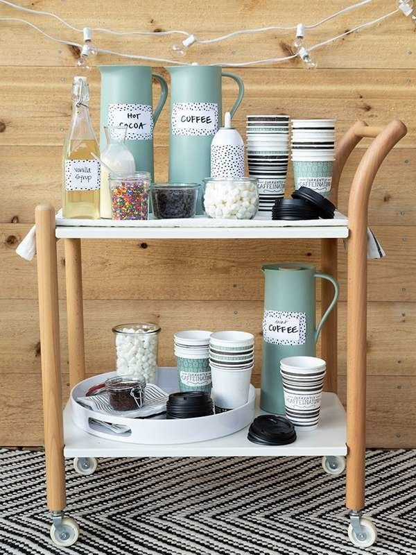Magnificent Diy Coffee Bar Perk Up Your Home Design Bob Vila Gmtry Best Dining Table And Chair Ideas Images Gmtryco