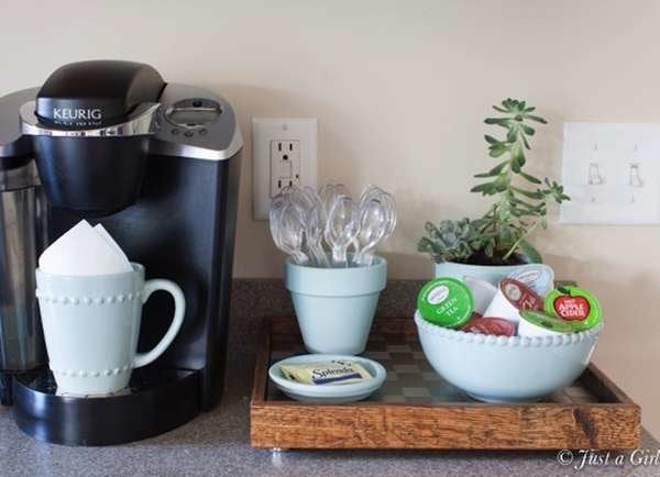 Outstanding Diy Coffee Bar Perk Up Your Home Design Bob Vila Gmtry Best Dining Table And Chair Ideas Images Gmtryco