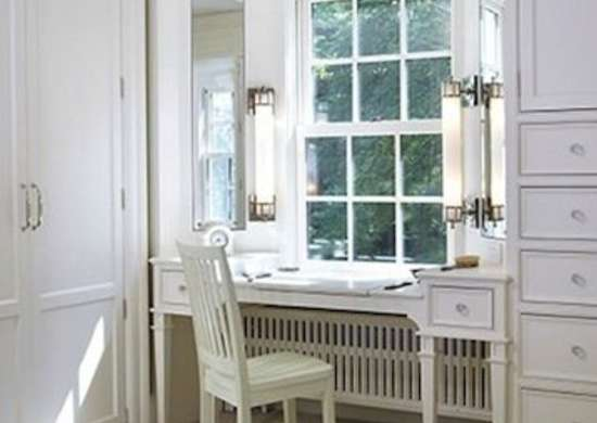 White Bedroom Vanity