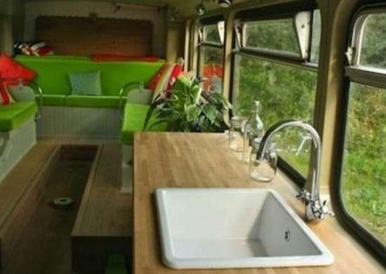 Double Decker Bus House