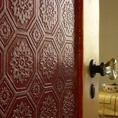 With A Seemingly Unlimited Selection Of Colors, Patterns, And Textures To  Choose From, Once Youu0027ve Dressed Your Door With Wallpaper, You May Find  Yourself ...