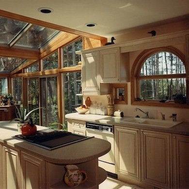 sunny kitchen sunroom decorating ideas 11 golden