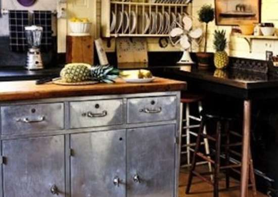 Repurposed Industrial Cabinets
