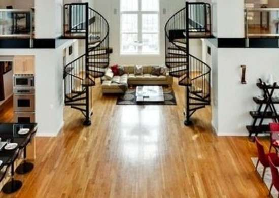 Matching Spiral Staircases