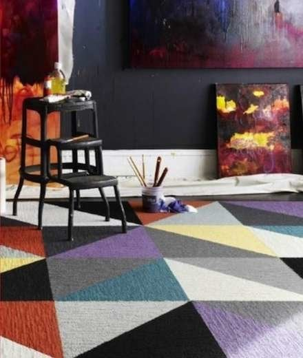 Cheap Flooring Ideas - FLOR Carpet Tiles