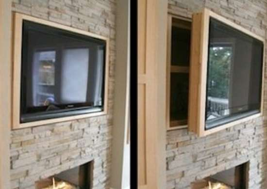Hidden Wall Storage