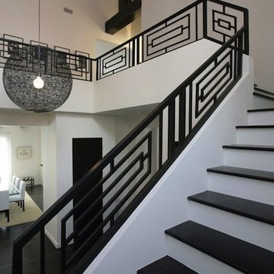 easy modern stairs design indoor. 1d93d1efcc88e36221218b2f69f5707e Staircase Railing  14 Ideas to Elevate Your Home Design Bob Vila