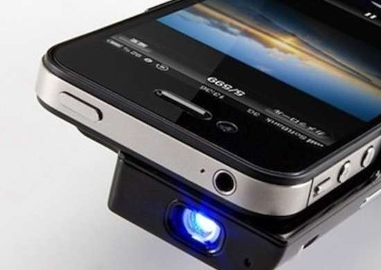 Phone with Projector