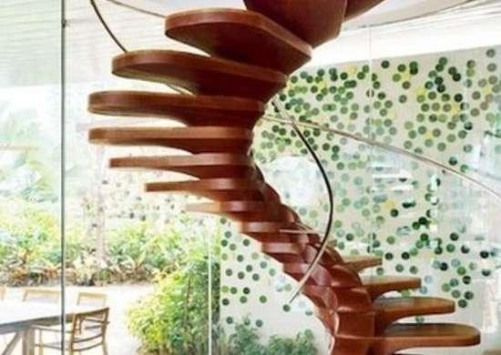 Organic Spiral Stairway