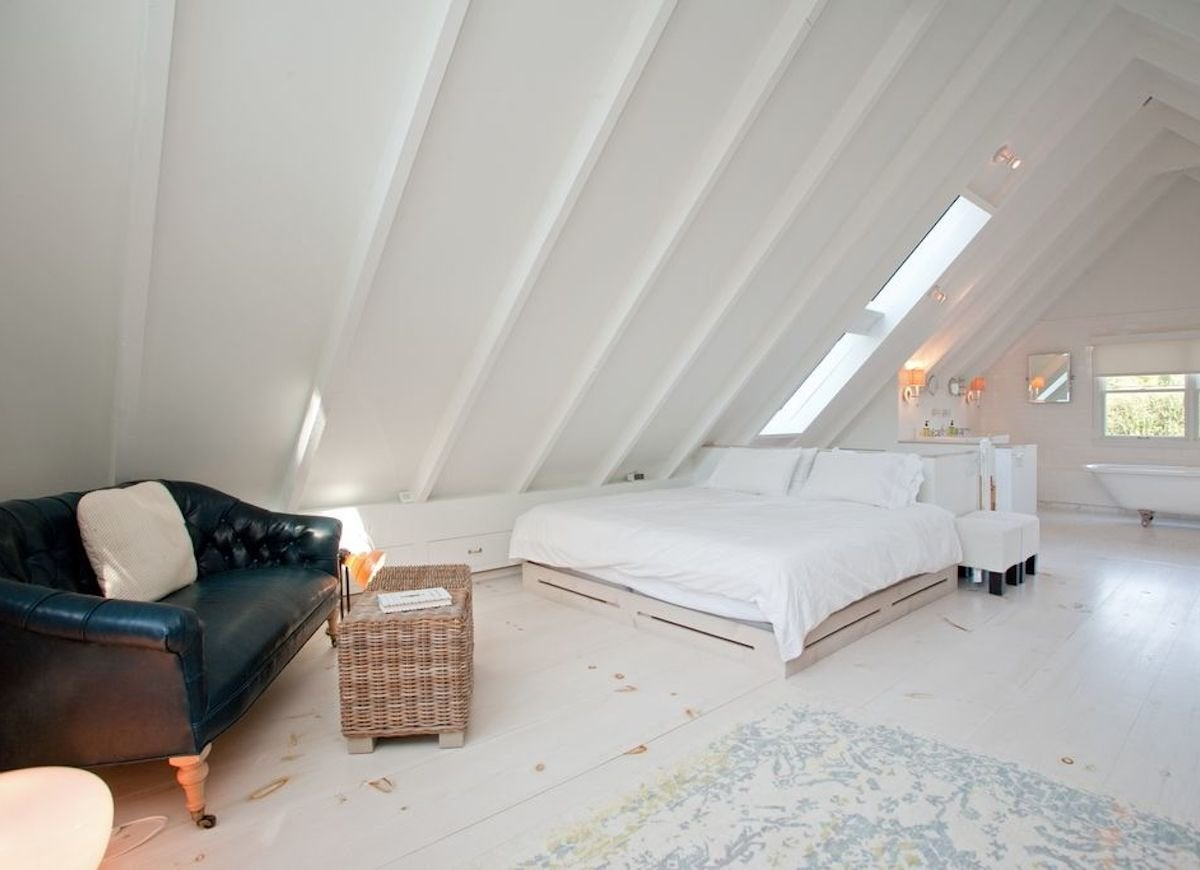 Attic open space