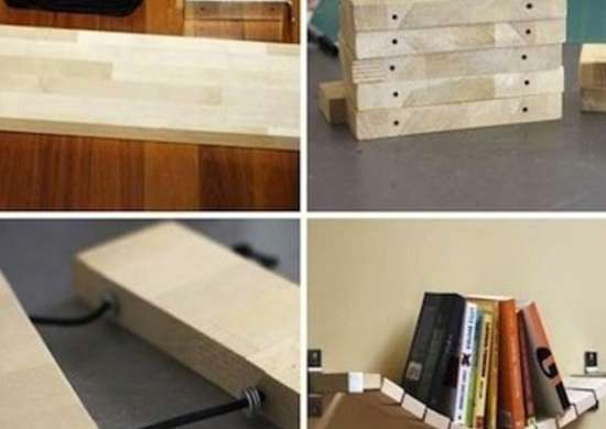 DIY Flexible Bookshelf