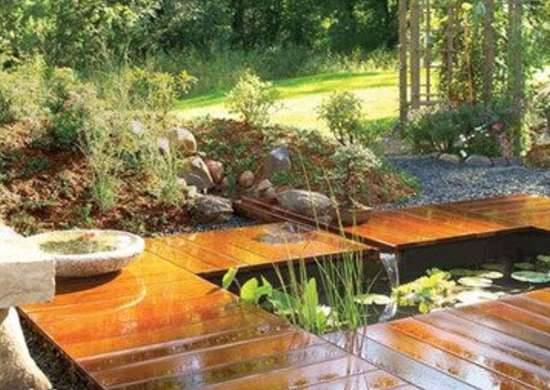 Backyard Deck and Pond Backyard Ponds 10 Stunning Water