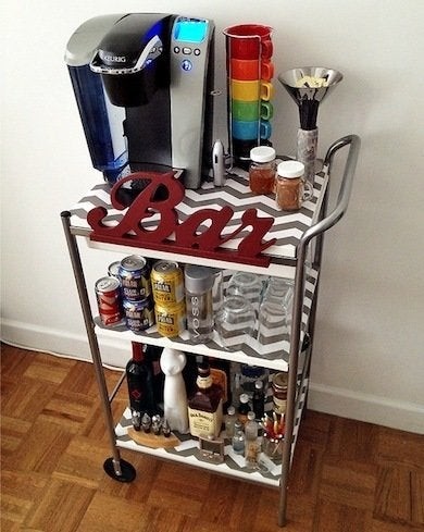 nifty and thrifty diy home bar 17 designs you can make easily bob vila. Black Bedroom Furniture Sets. Home Design Ideas