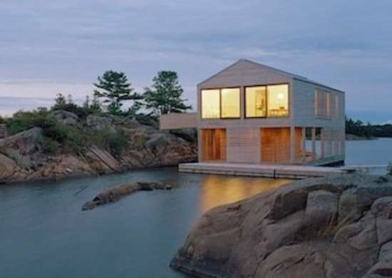 Floating Lake House