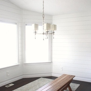 Diy White Wood Wall