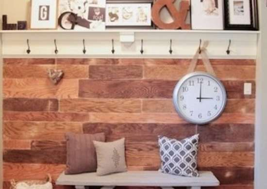 DIY Plywood Wall