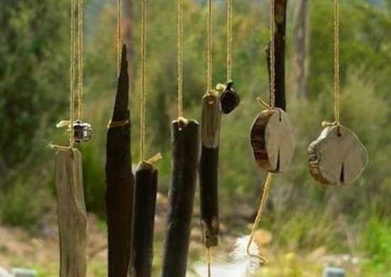 DIY Windchime Twigs