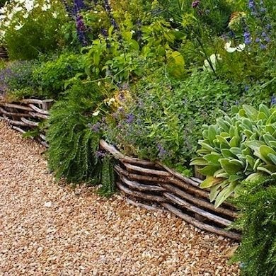 DIY Garden Edging Bob Vila
