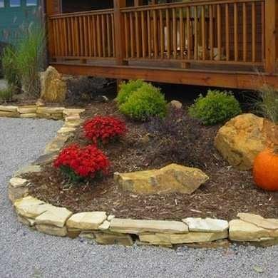 Stone Garden Edging