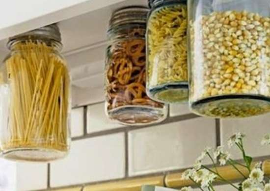 Mason Jar Storage Kitchen Counter Ideas 14 Ways To Get