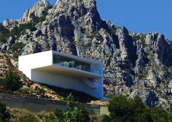Concrete Cliff House